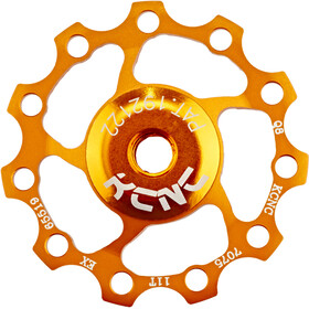 KCNC Jockey Wheel 11 tanden SS Lager, gold